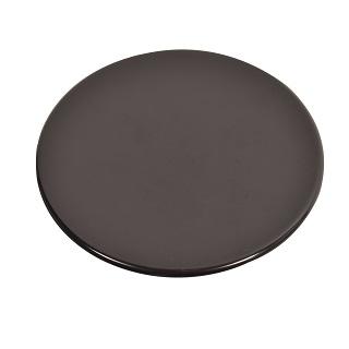 Burner Cap - LARGE | BURNER CAP LARGE 100MM DIAMETER. GLOSSY FLAT RAPID | Part No:C00052931