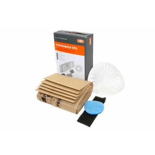 Canister Range Maintenance Kit | INCLUDES X5 BAG & 1 CONE / EXHAUST / BONDINI FILTER | Part No:1112540100