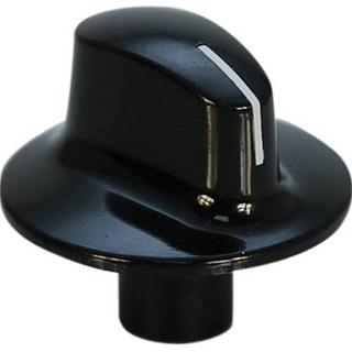 Knob | Black Cooker Control Knob | Part No:450920431