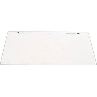 Glass | Small Oven Inner Door Glass size 235 x 495 mm | Part No:082945206