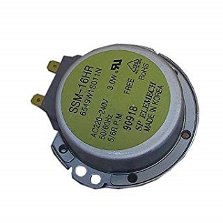 Motor   3 Watts Turntable Motor   Part No:6549W1S011N