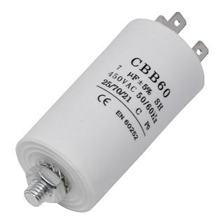 Capacitor   7UF Motor Capacitor   Part No:CAP244