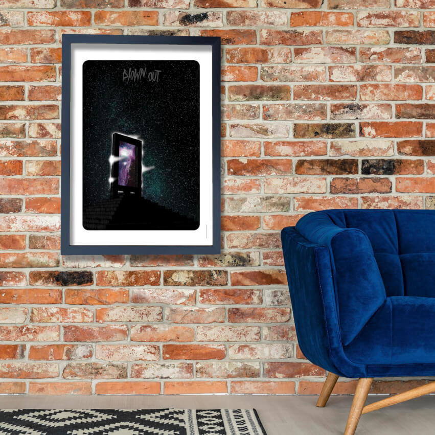 Blown Out 2 Wall Art Poster Print
