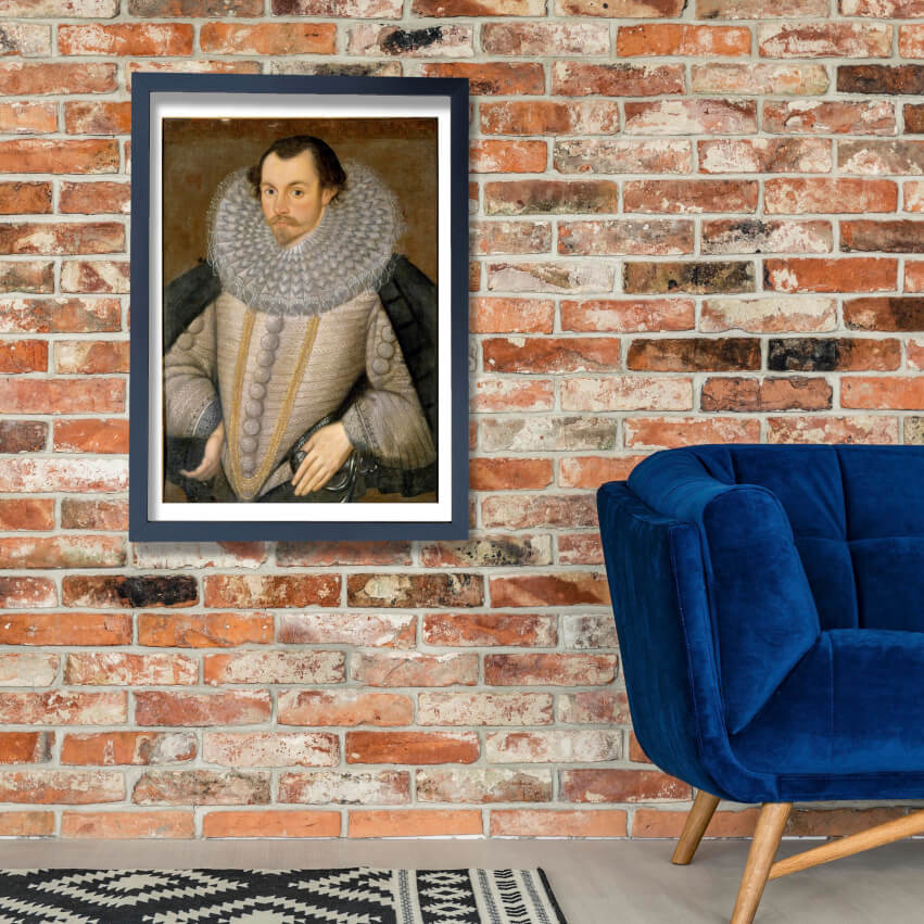 British - A Man Called Sir Martin Frobisher Kt Wall Art Poster Print