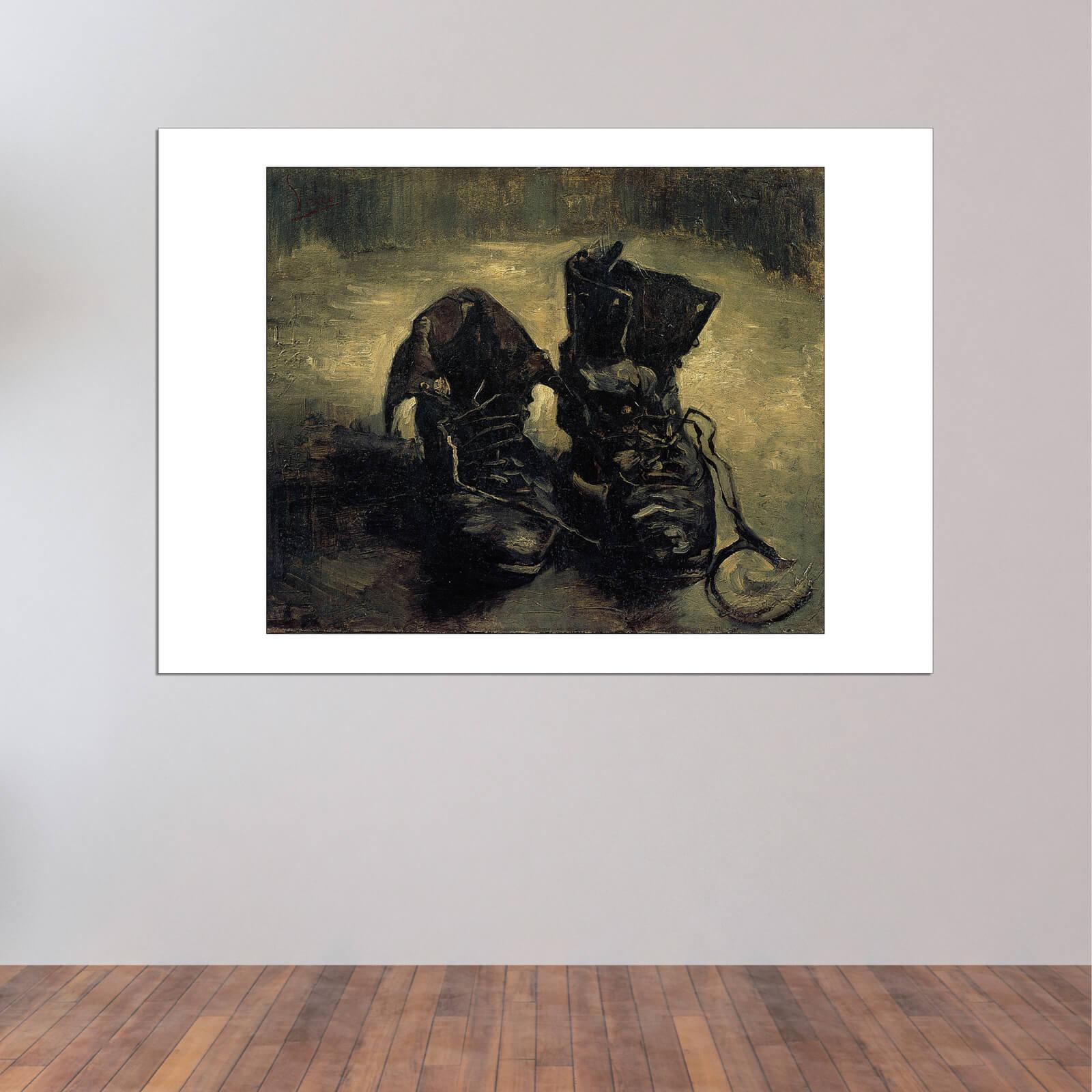 Vincent Arte Cartel Pared Impresión Zapatos De Van un Par Gogh 1886 rwr8RB