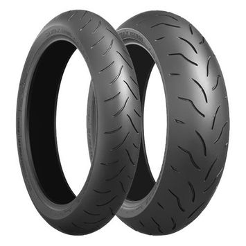 Bridgestone Battlax BT016 Pro 180/55ZR 17 + 120/70ZR 17