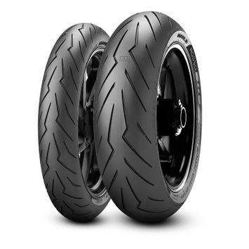 Pirelli Rosso 3 180/55ZR17 + 120/70ZR17