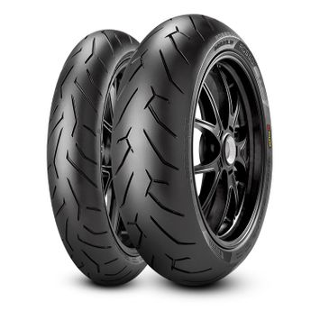 Pirelli Diablo Rosso II 140/70R17 + 110/70R17