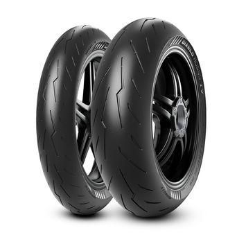 Pirelli Diablo Rosso IV 180/55ZR17 73W + 120/70ZR17 58W