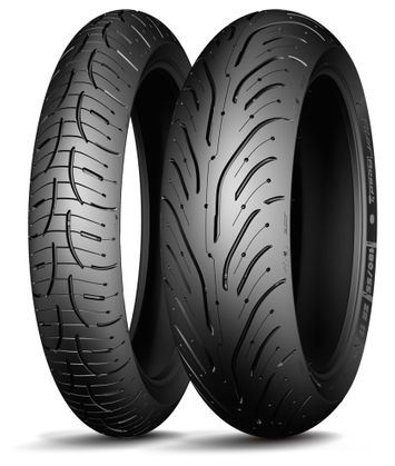 Michelin Pilot Road 4 Scooter 160/60R15 + 120/70ZR17