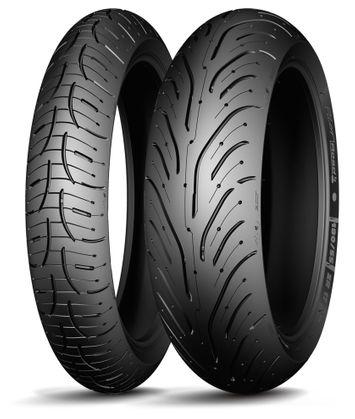 Michelin Pilot Road 4 120/70ZR18 + 160/60ZR17