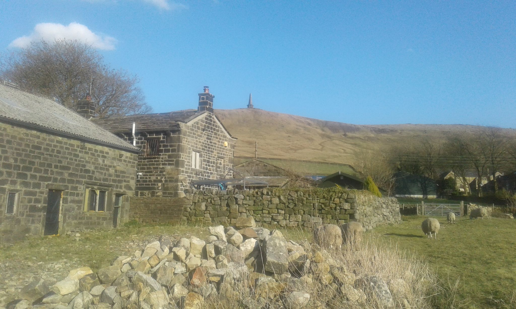 5 bedroom barn character property SSTC in Todmorden - Photograph 11