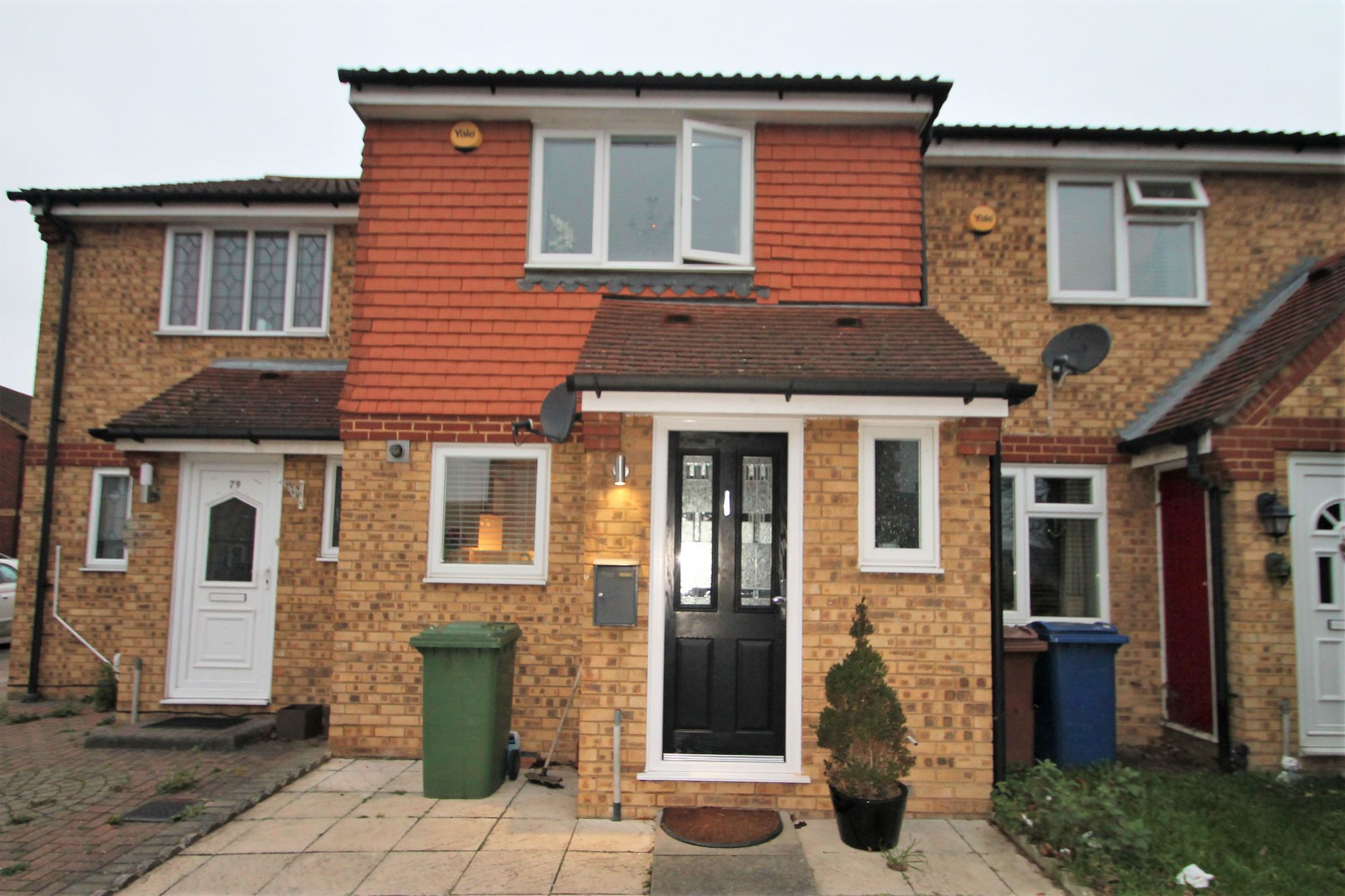 2 Bedroom Mid Terraced House For Sale - Exterior