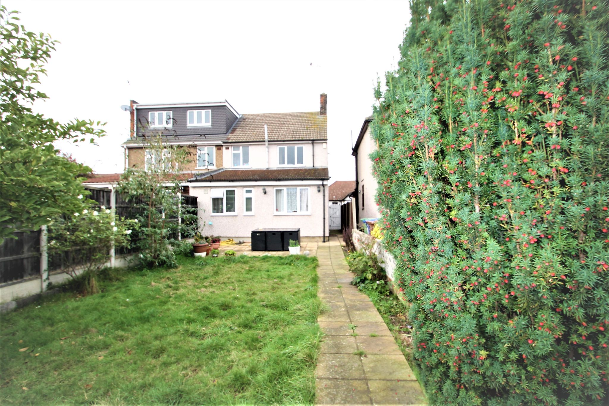 3 Bedroom Semi-detached House For Sale - Back Garden