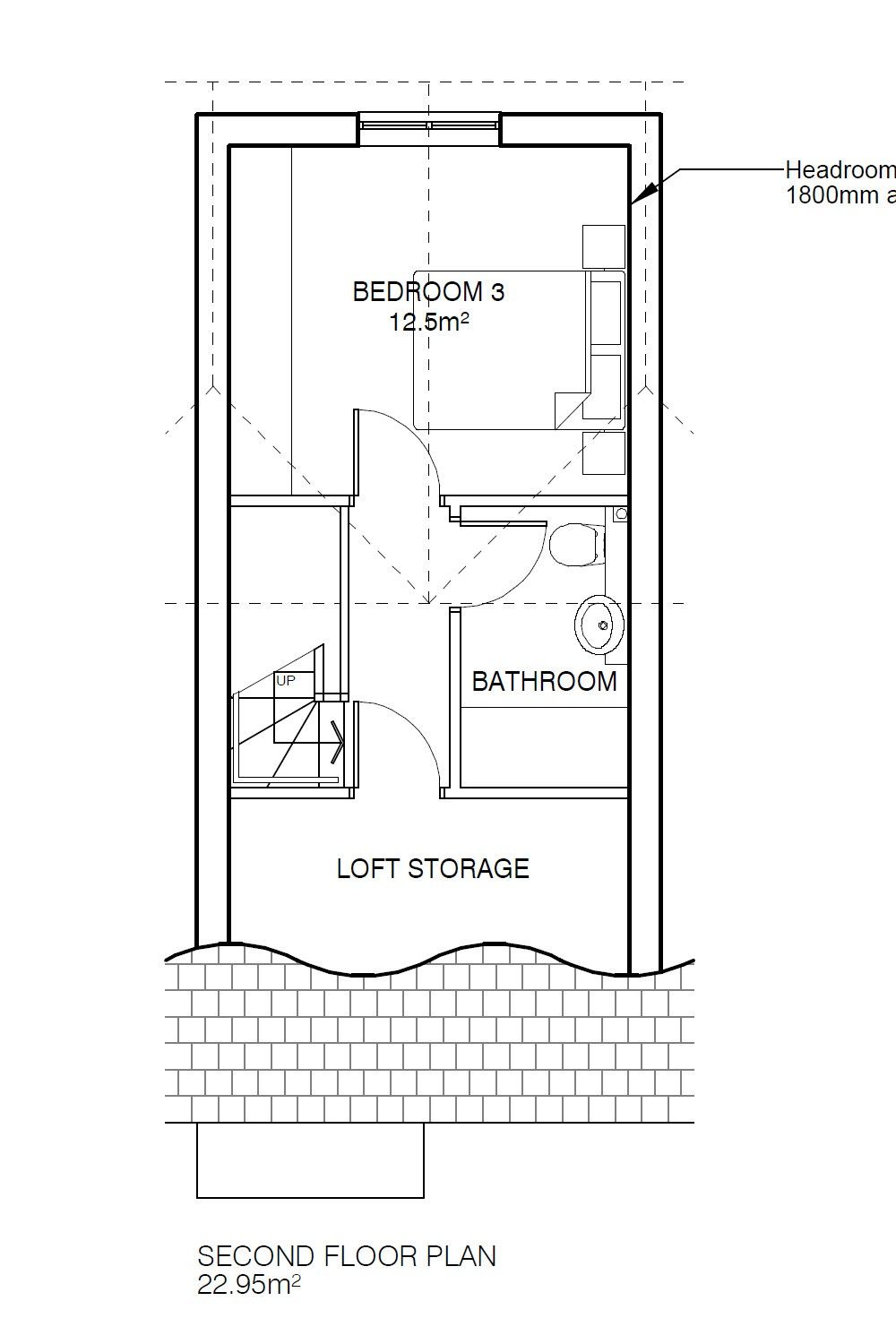 3 Bedroom Town House For Sale - Floorplan 3