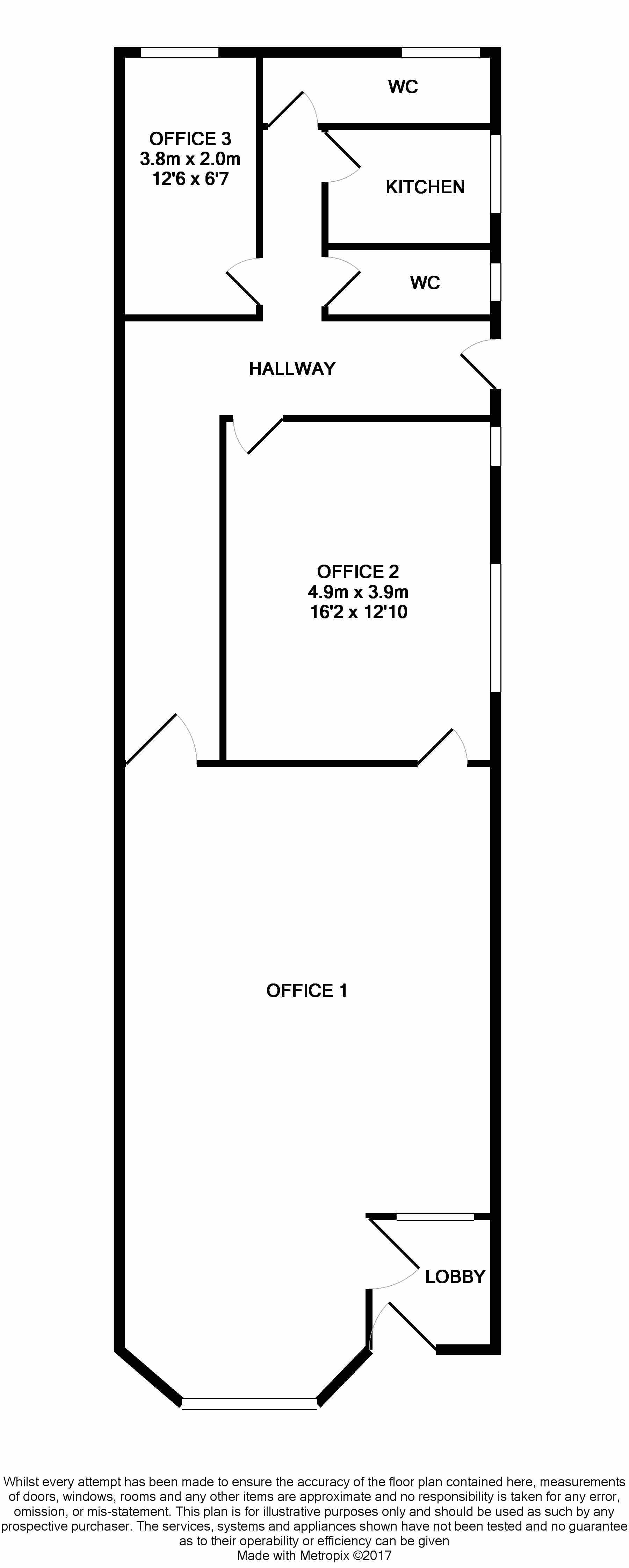 Office To Rent - Floorplan 2