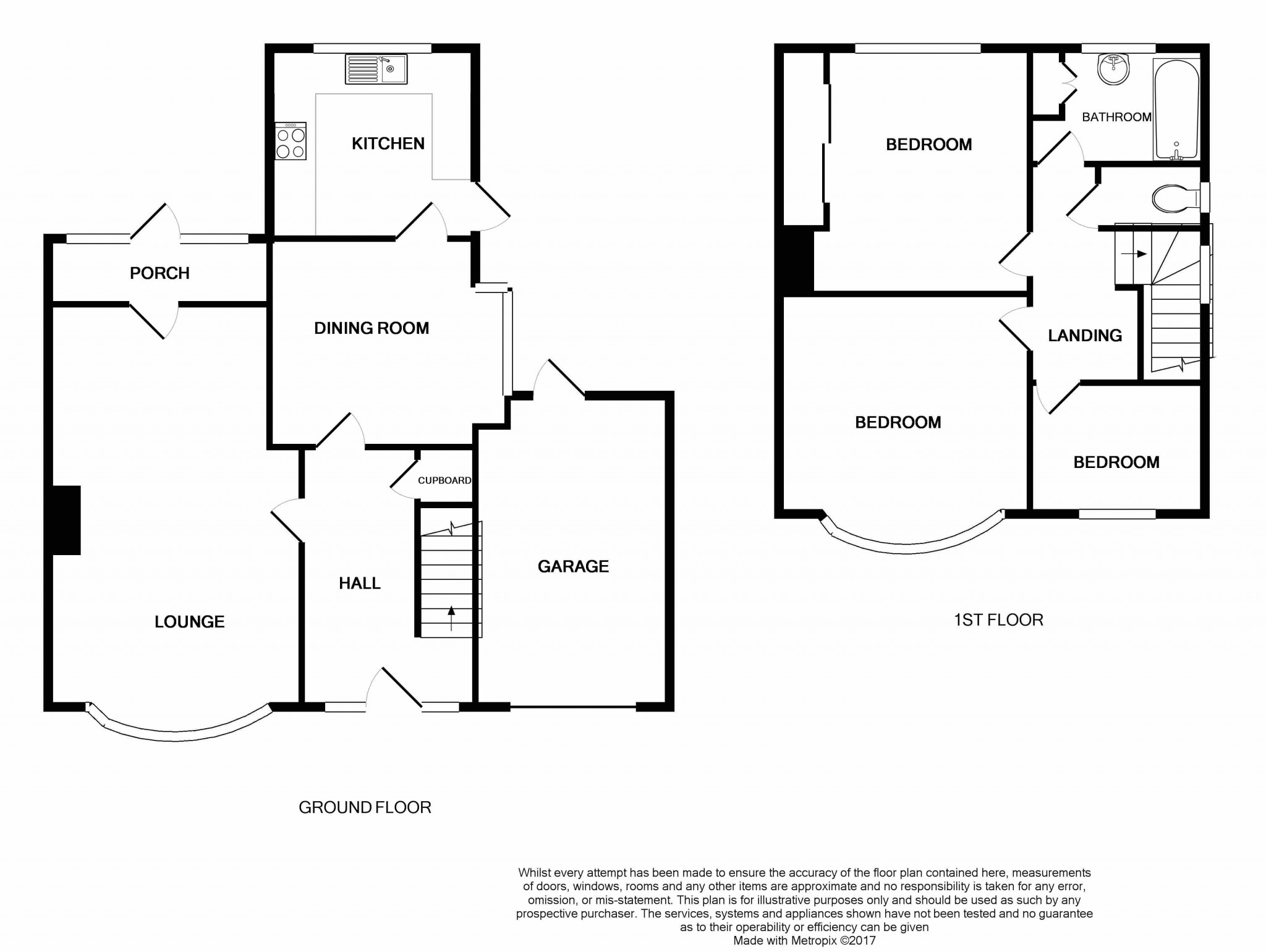 3 bedroom semi detached house for sale in 37 hollymount for Semi detached garage plans