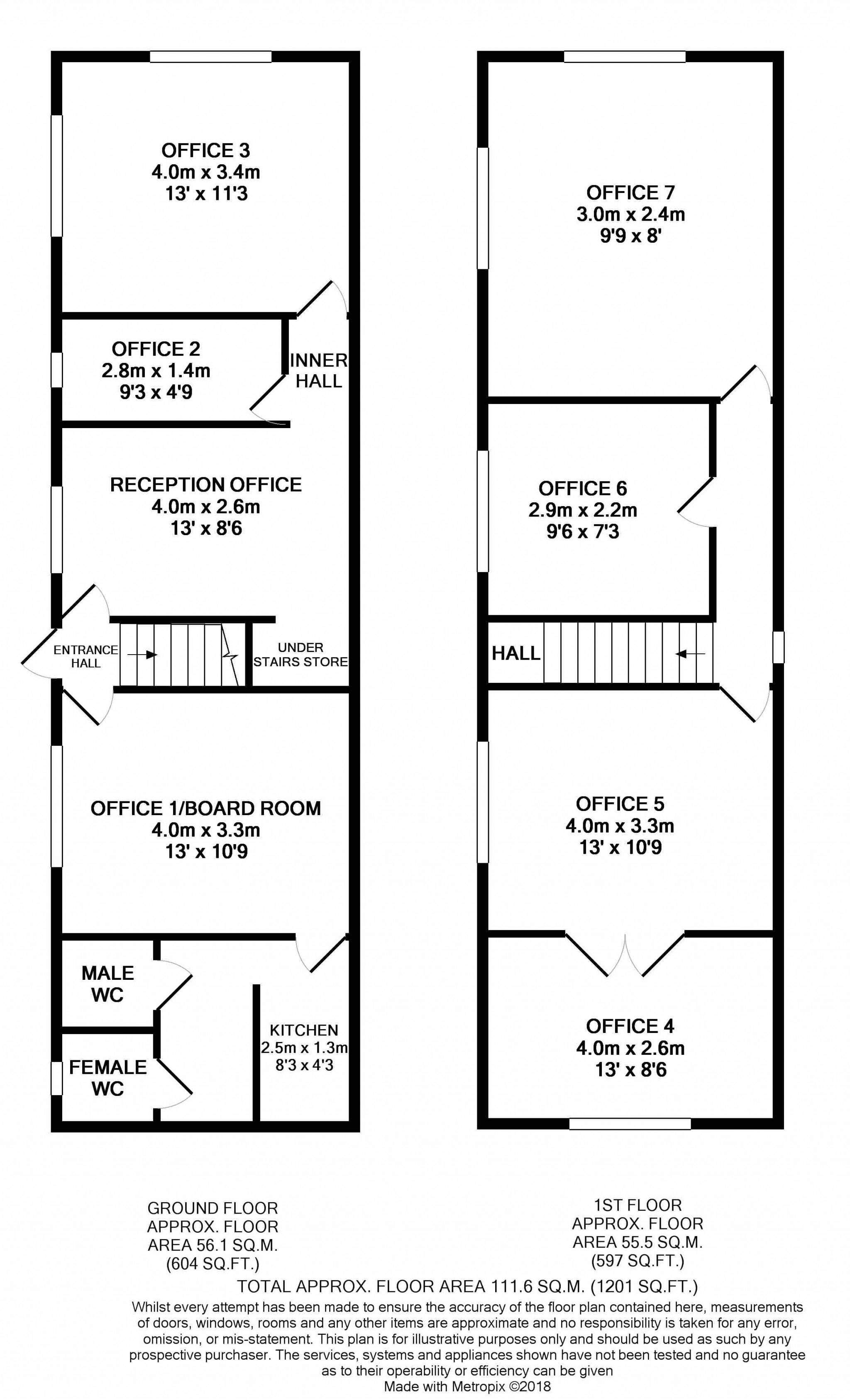 Commercial Property To Rent - Floorplan 1