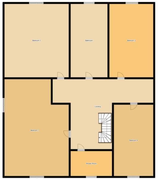 6 Bedroom Detached House For Sale - Floorplan 2