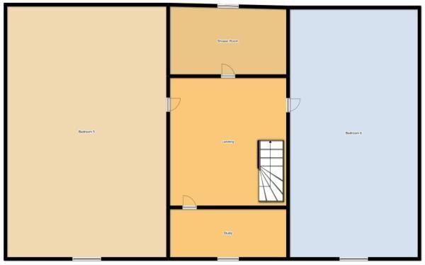 6 Bedroom Detached House For Sale - Floorplan 3