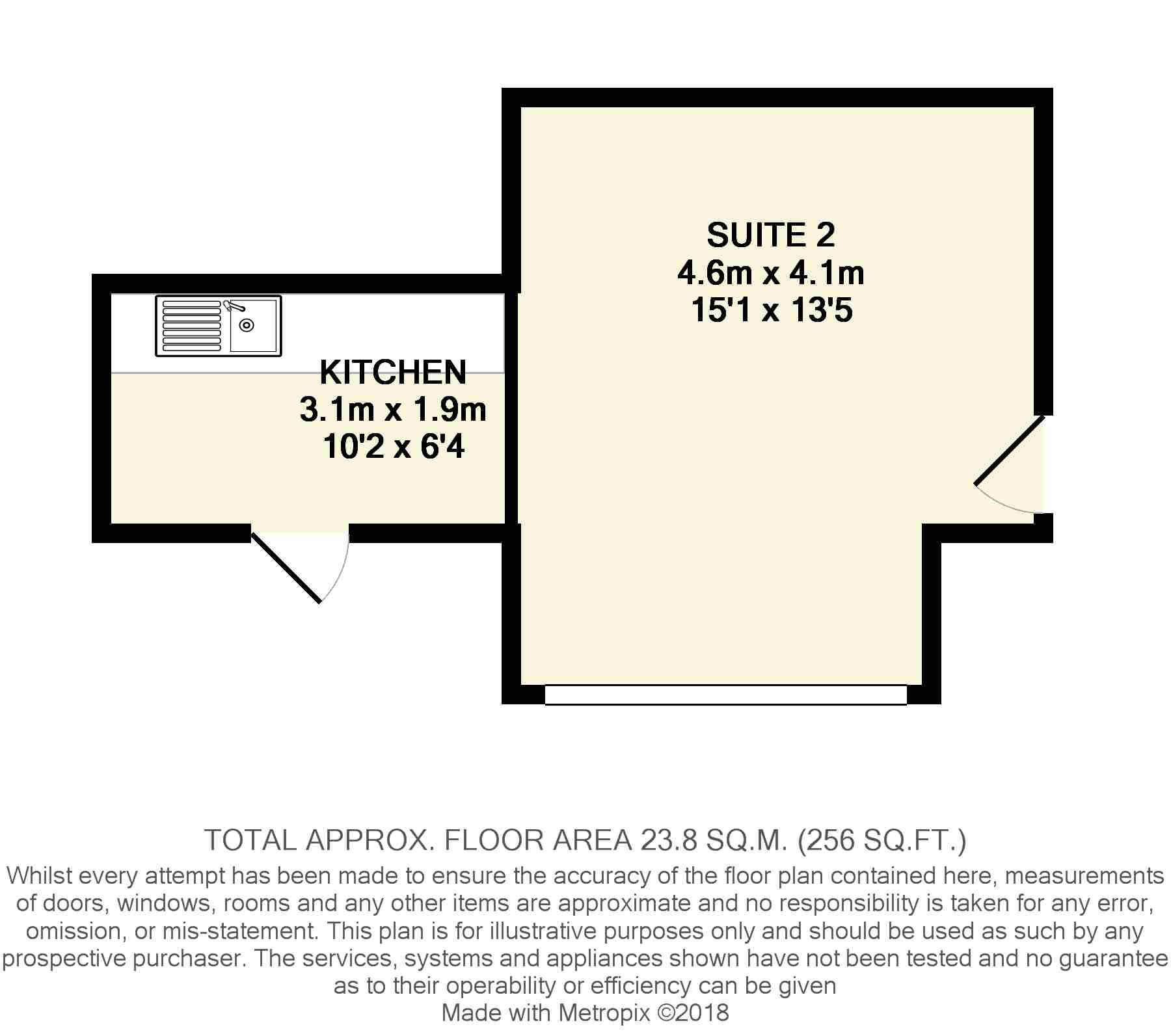Office To Rent - Floorplan 1