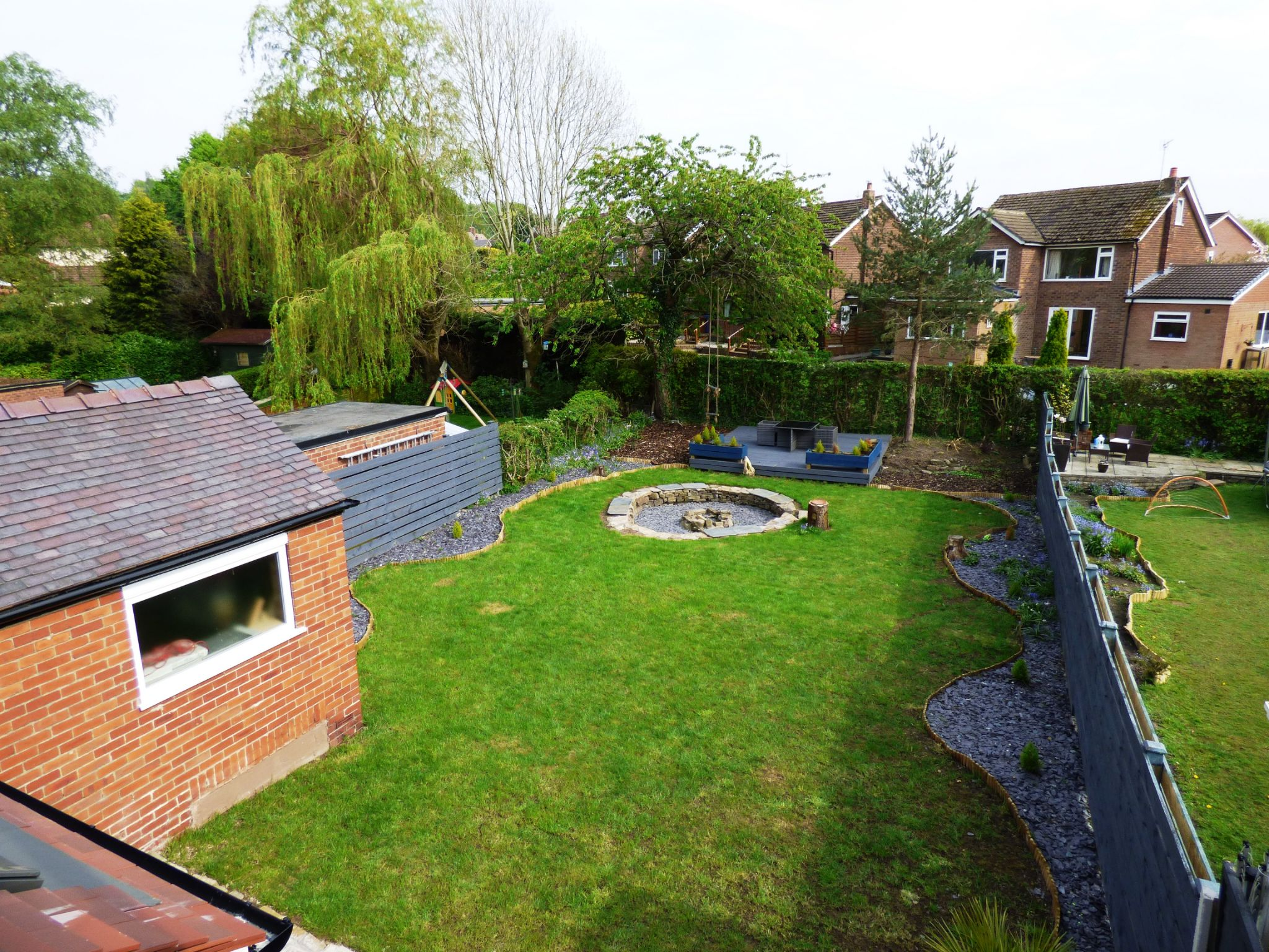 3 Bedroom Semi-detached House For Sale - Rear Garden