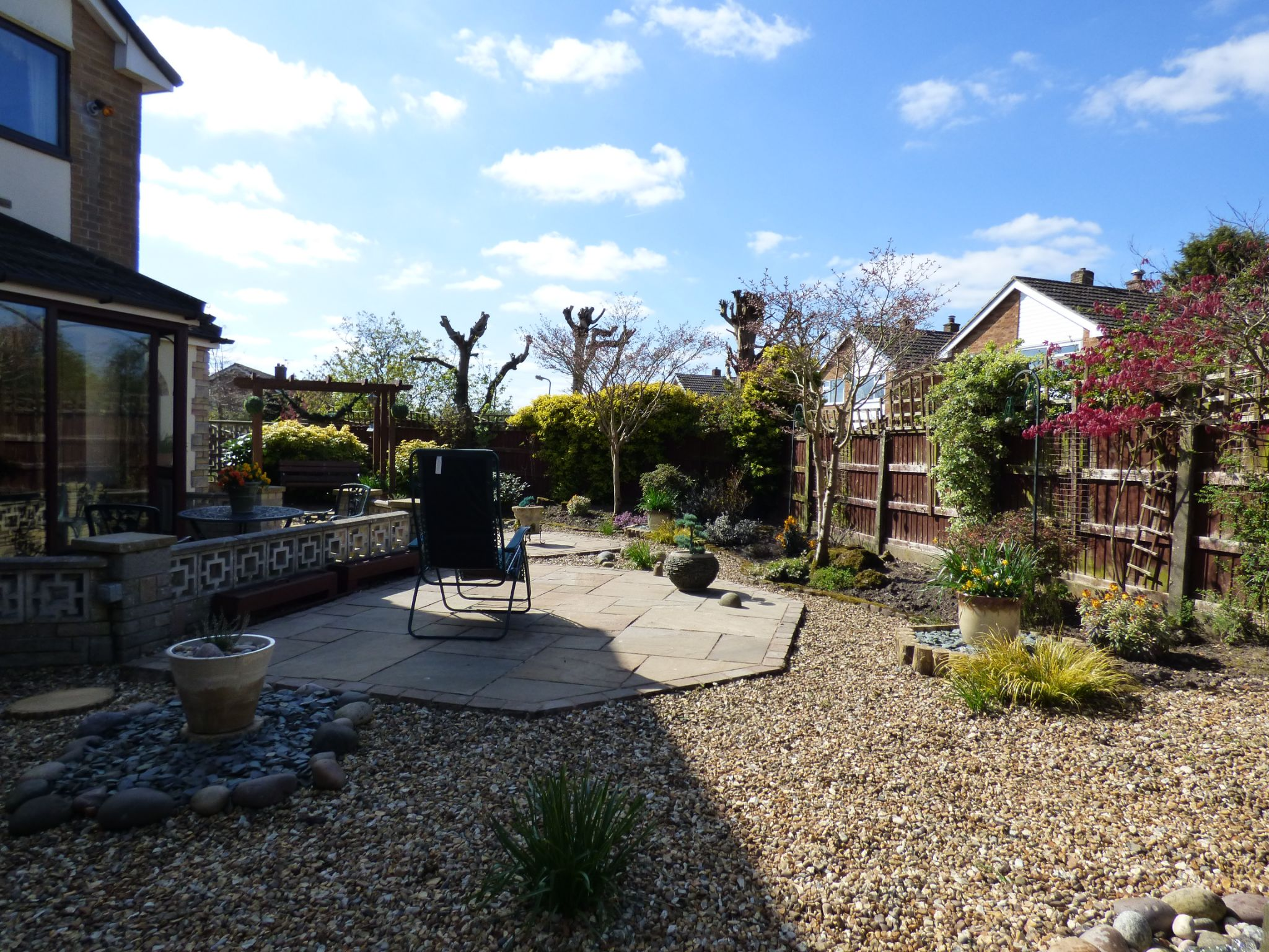 3 Bedroom Detached House For Sale - Rear Garden View 3