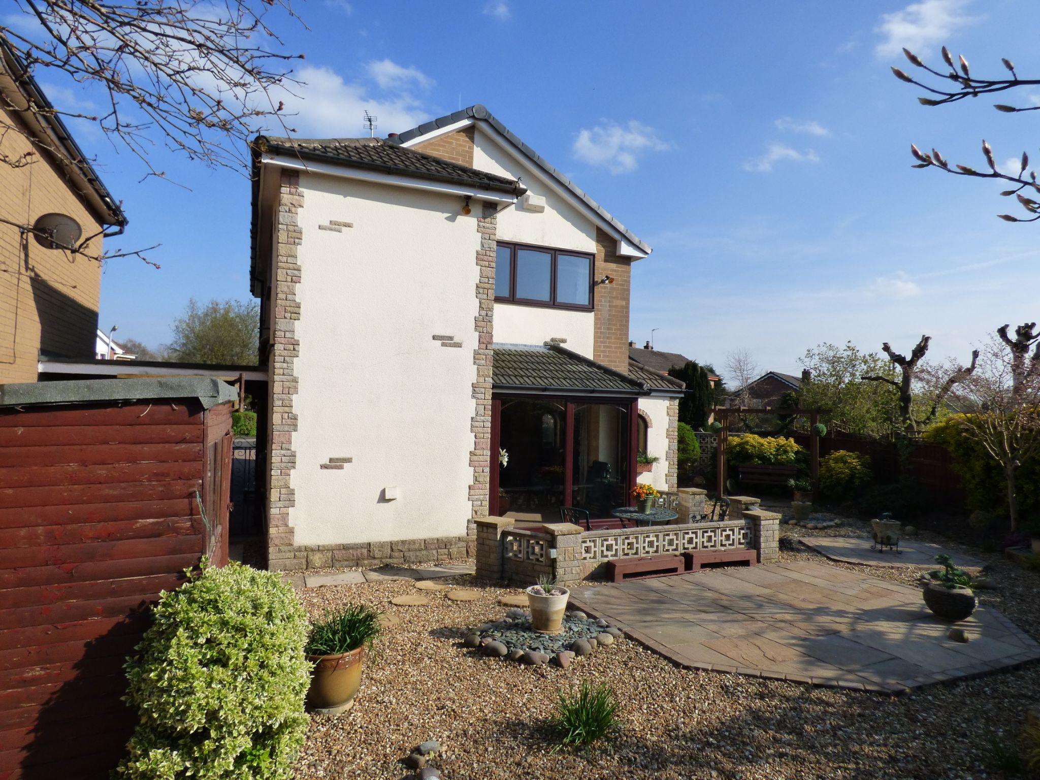 3 Bedroom Detached House For Sale - Rear Elevation Extension