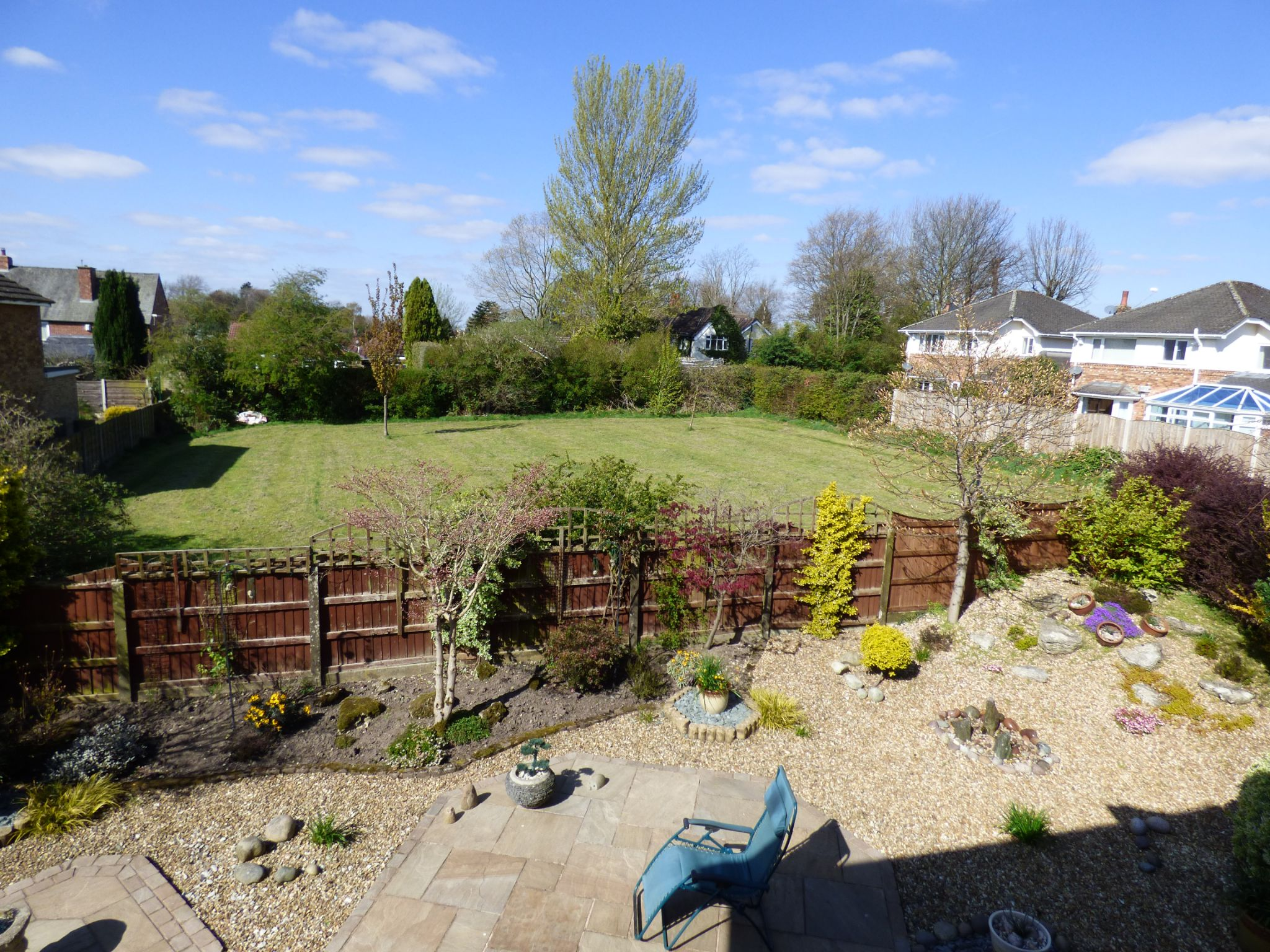 3 Bedroom Detached House For Sale - View From Bedroom Over Playing Field