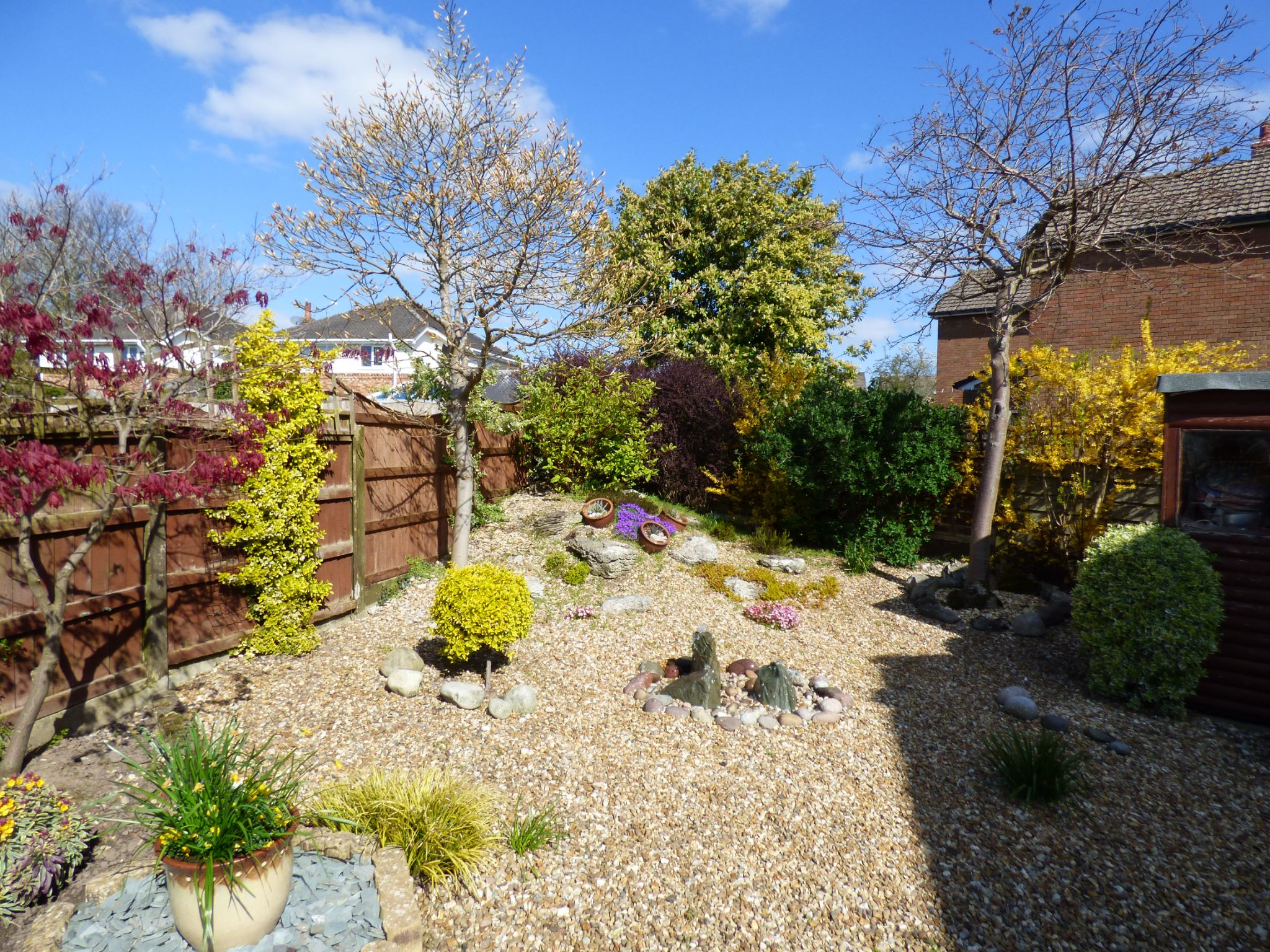 3 Bedroom Detached House For Sale - Rear Garden View 2