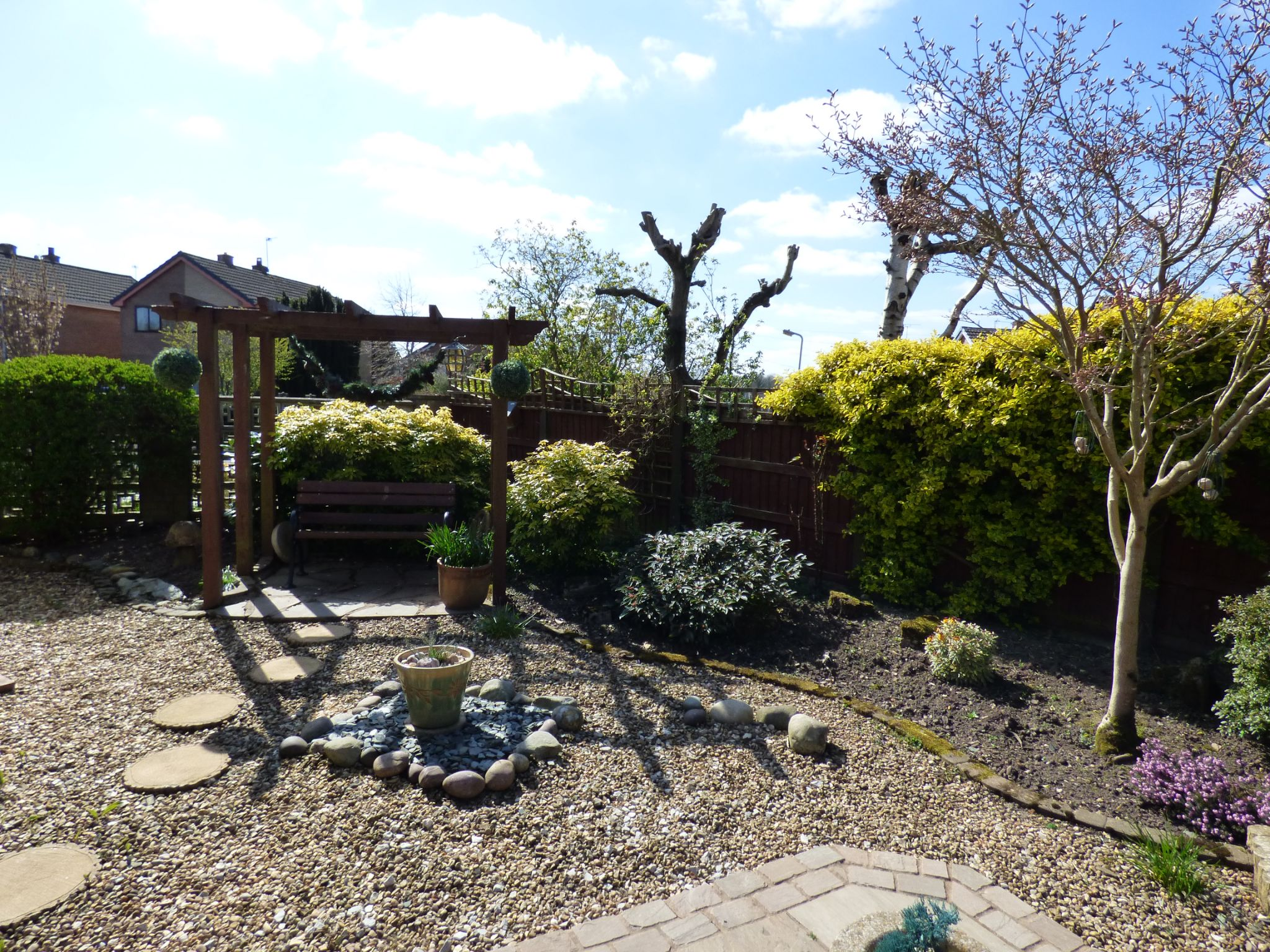 3 Bedroom Detached House For Sale - Rear Garden View 4