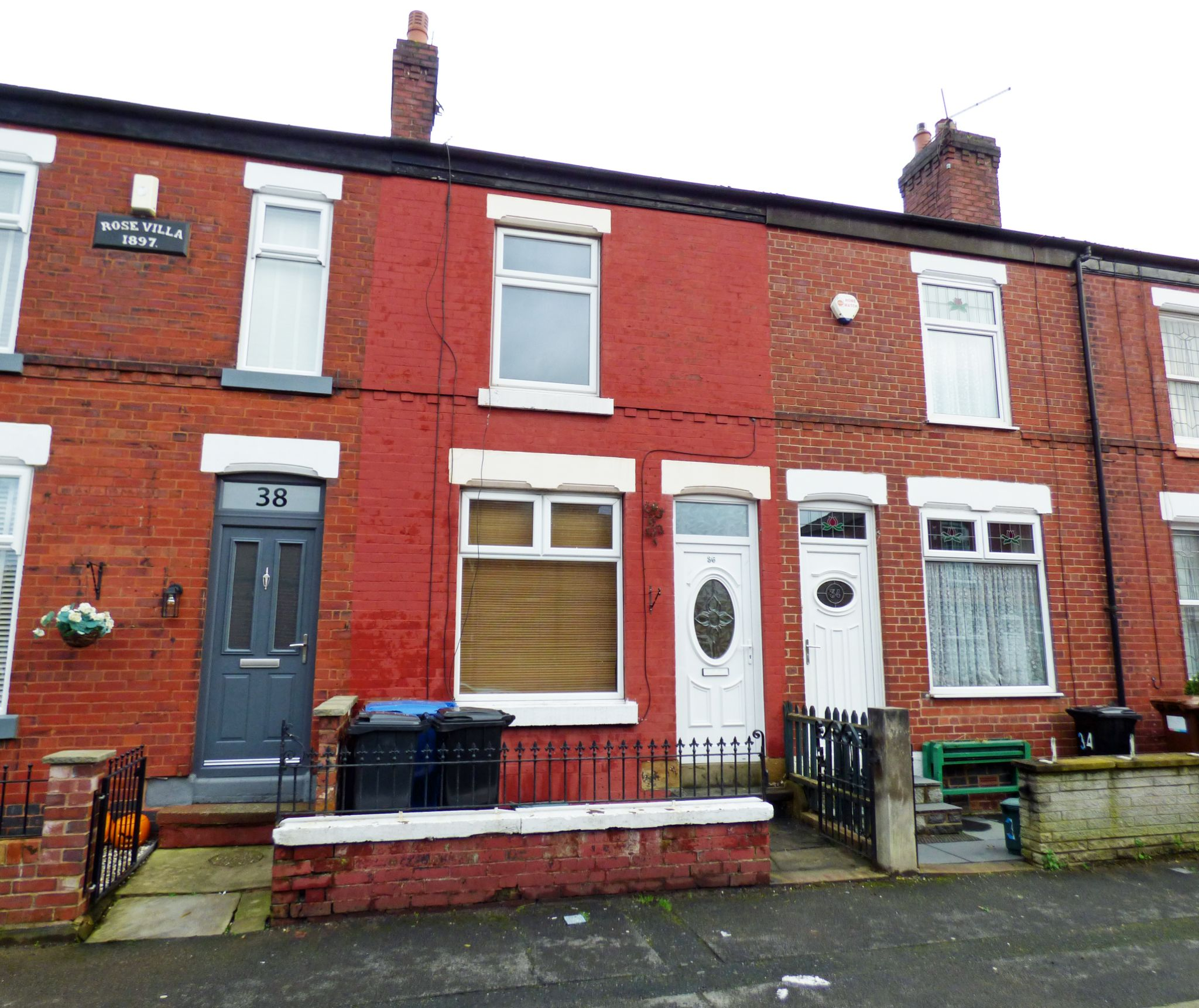 2 Bedroom Mid Terraced House - Front
