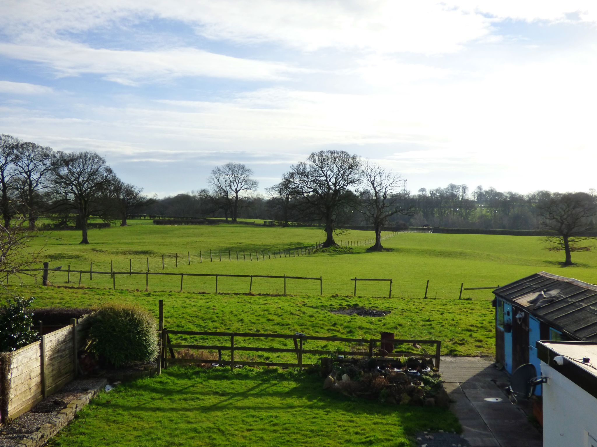 3 Bedroom Detached Bungalow For Sale - Rear Countryside Views