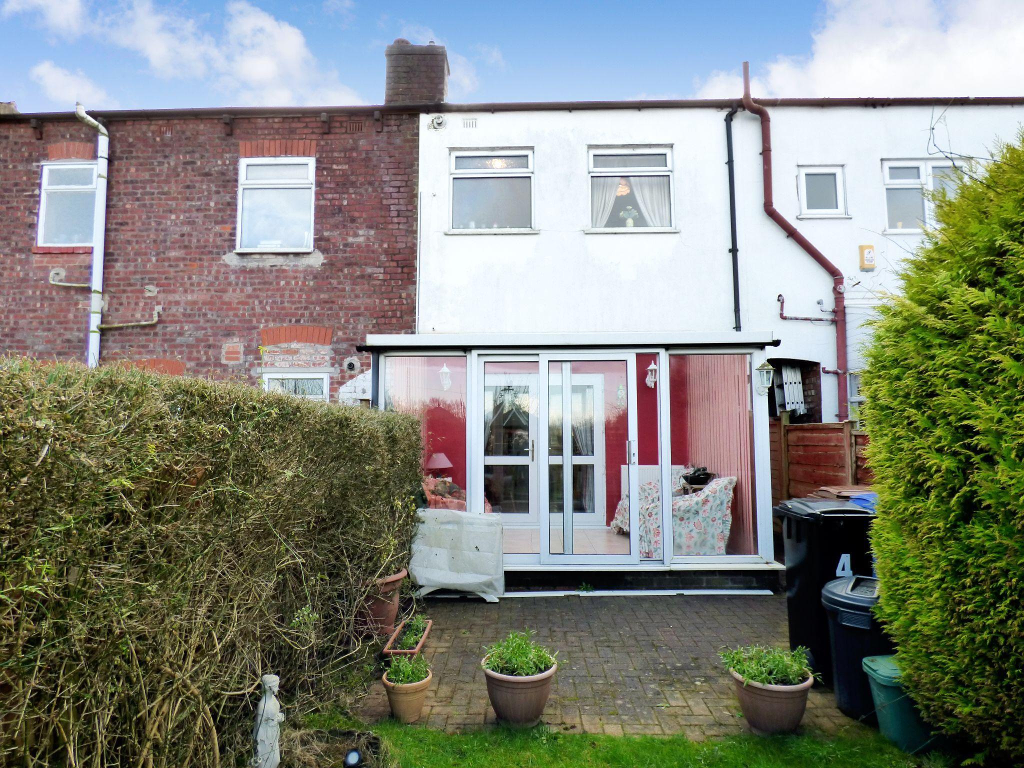 2 Bedroom Mid Terraced House For Sale - Rear External