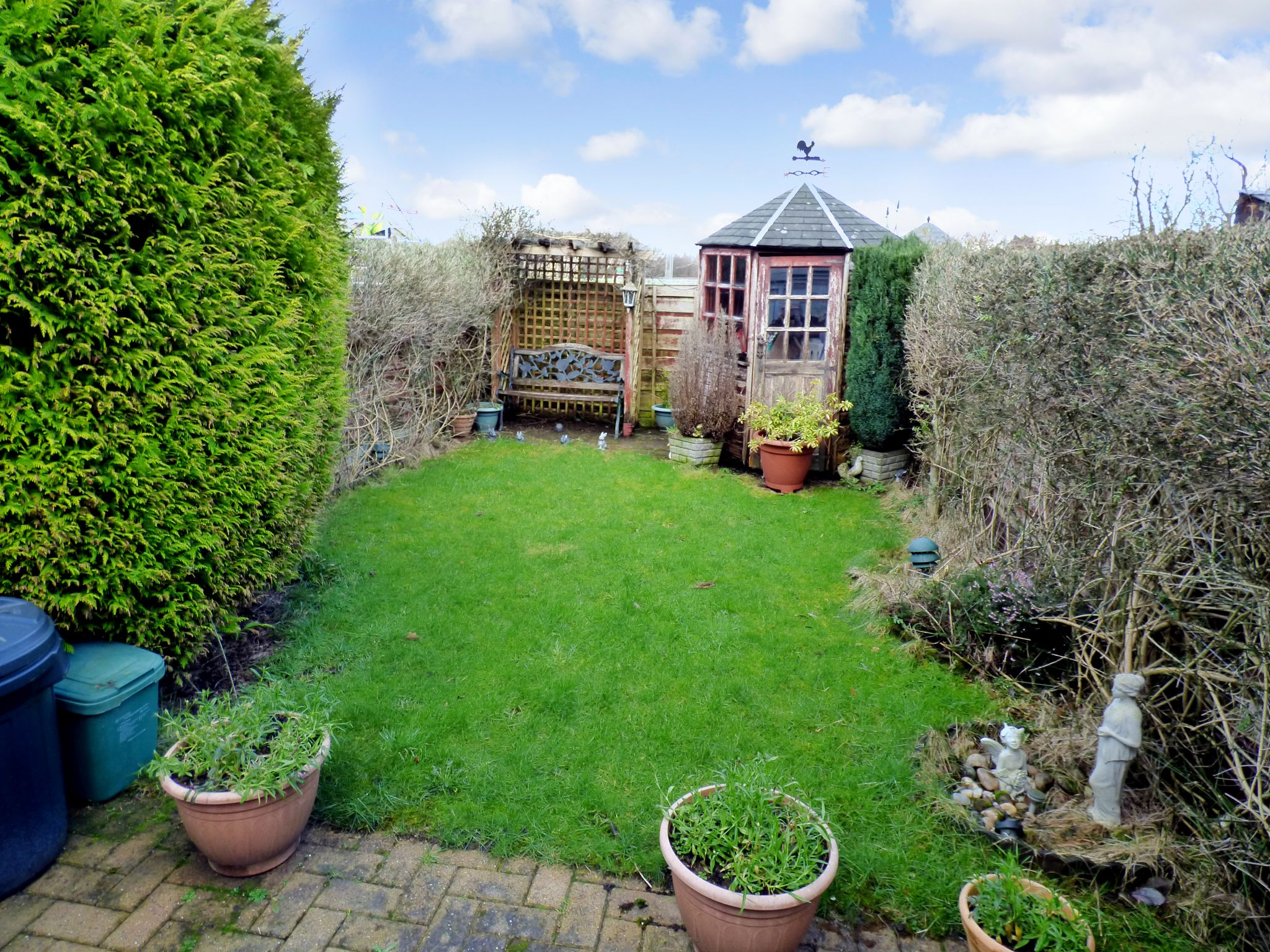 2 Bedroom Mid Terraced House For Sale - Rear Garden
