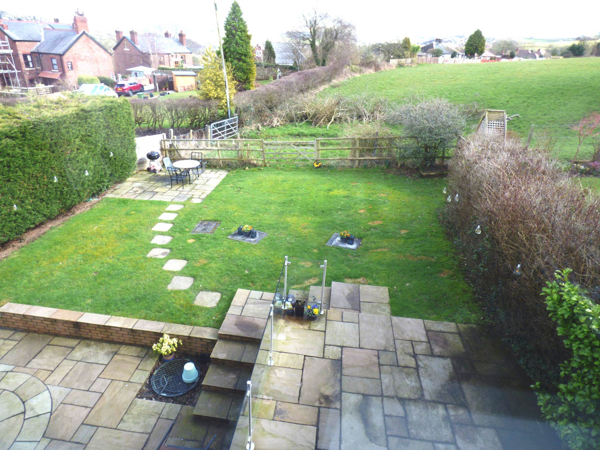 5 Bedroom Detached House For Sale - Rear Garden