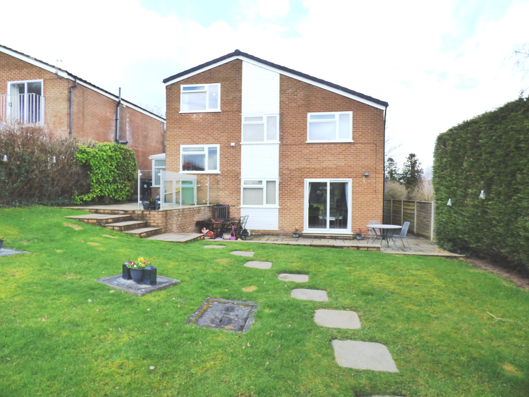 5 Bedroom Detached House For Sale - Rear External