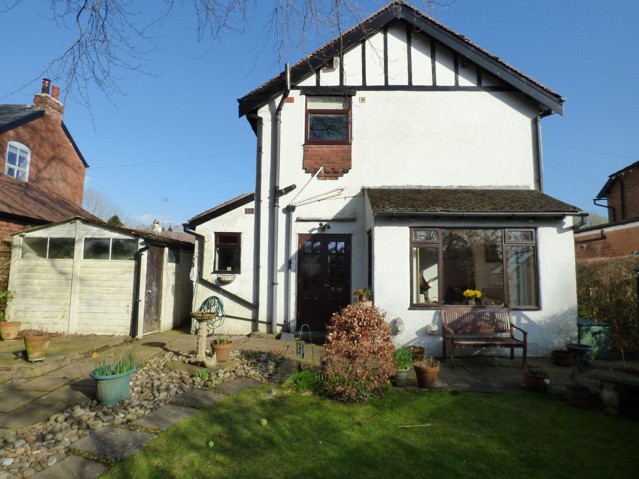 3 Bedroom Detached House For Sale - Rear External