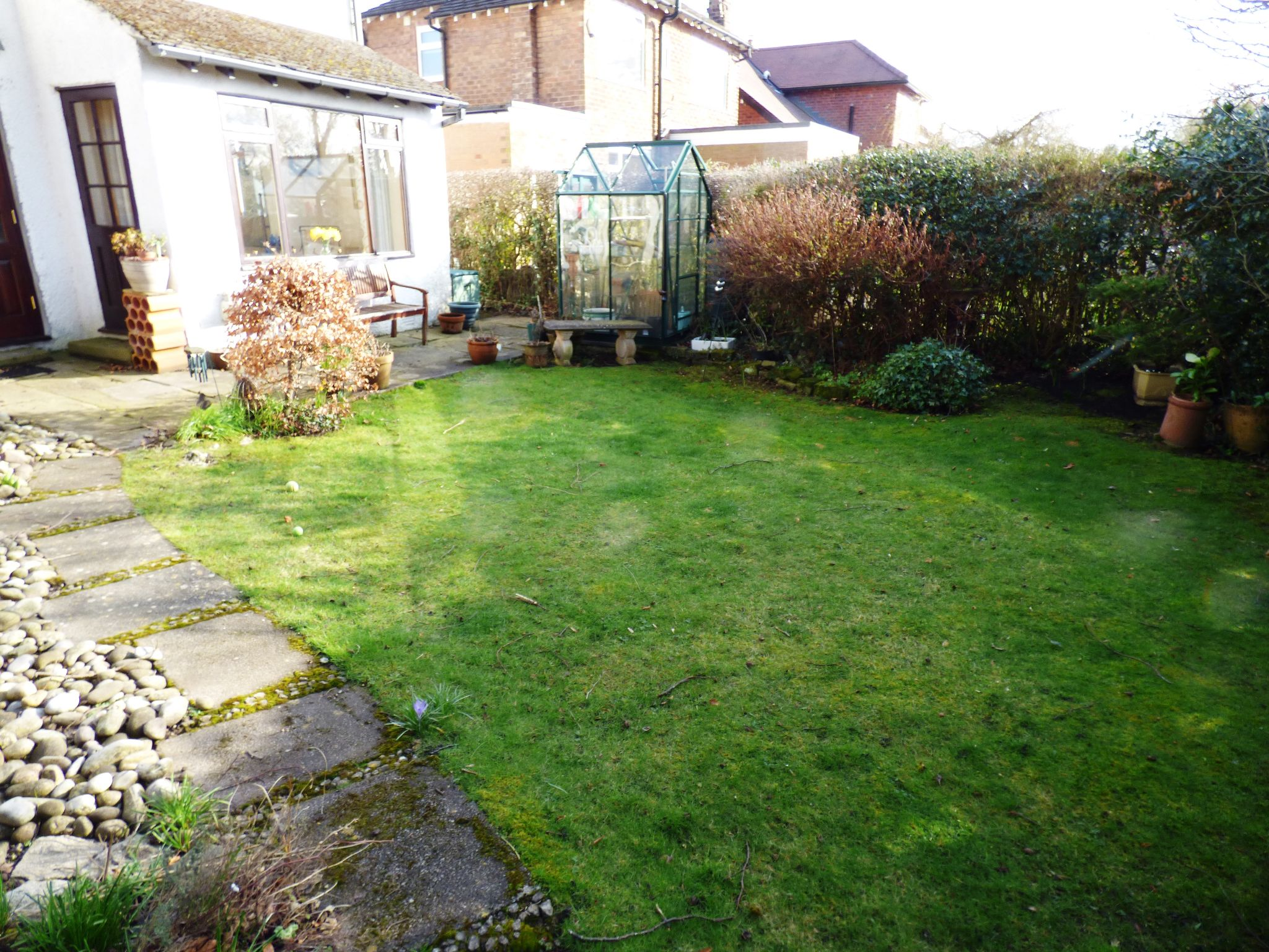 3 Bedroom Detached House For Sale - Rear Garden