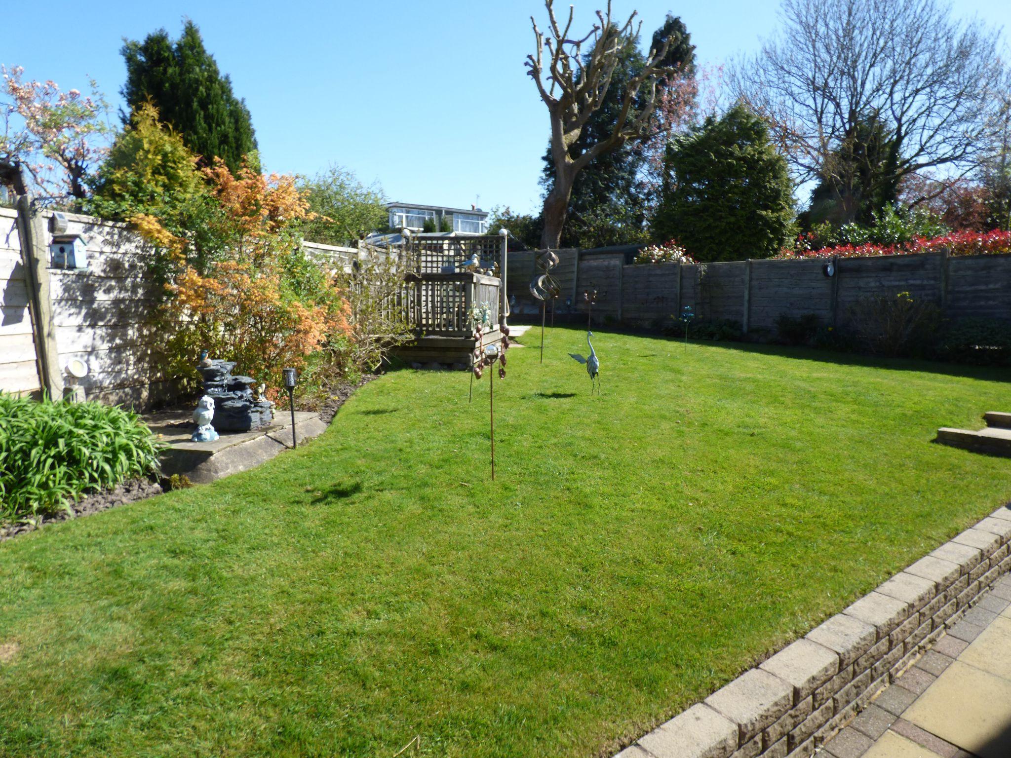 3 Bedroom Detached Bungalow For Sale - Rear Garden