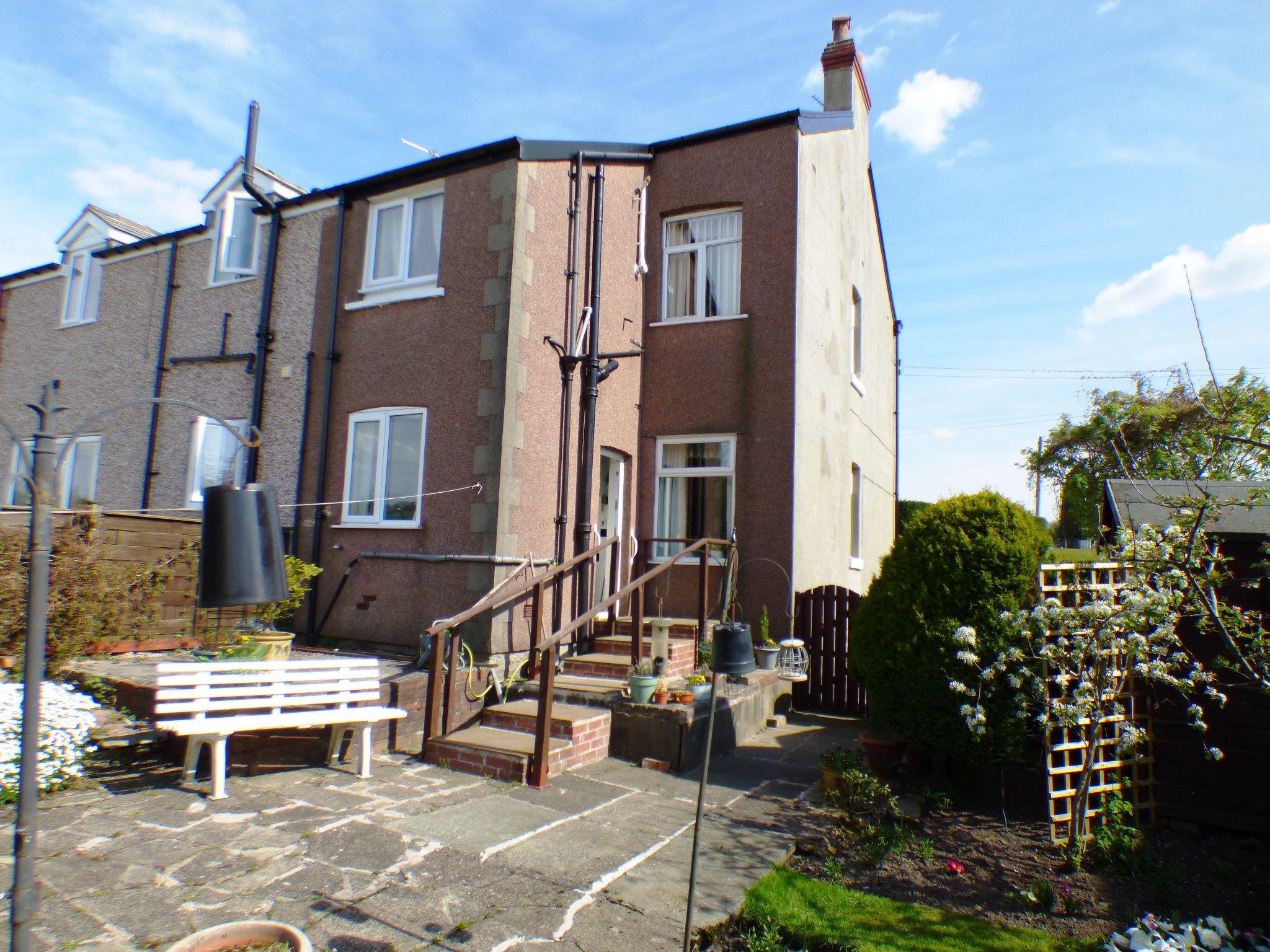 2 Bedroom Semi-detached House For Sale - Rear External