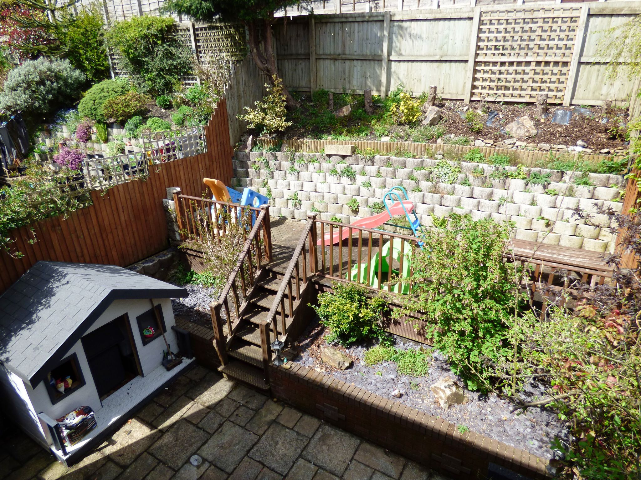 4 Bedroom Semi-detached House For Sale - Rear Garden