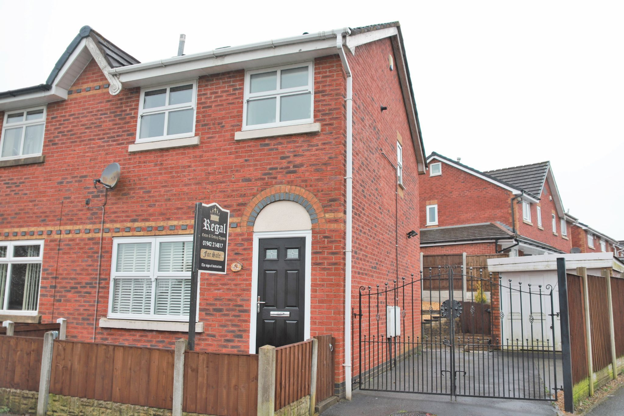 3 bedroom semi-detached house For Sale in Wigan - Photograph 1.