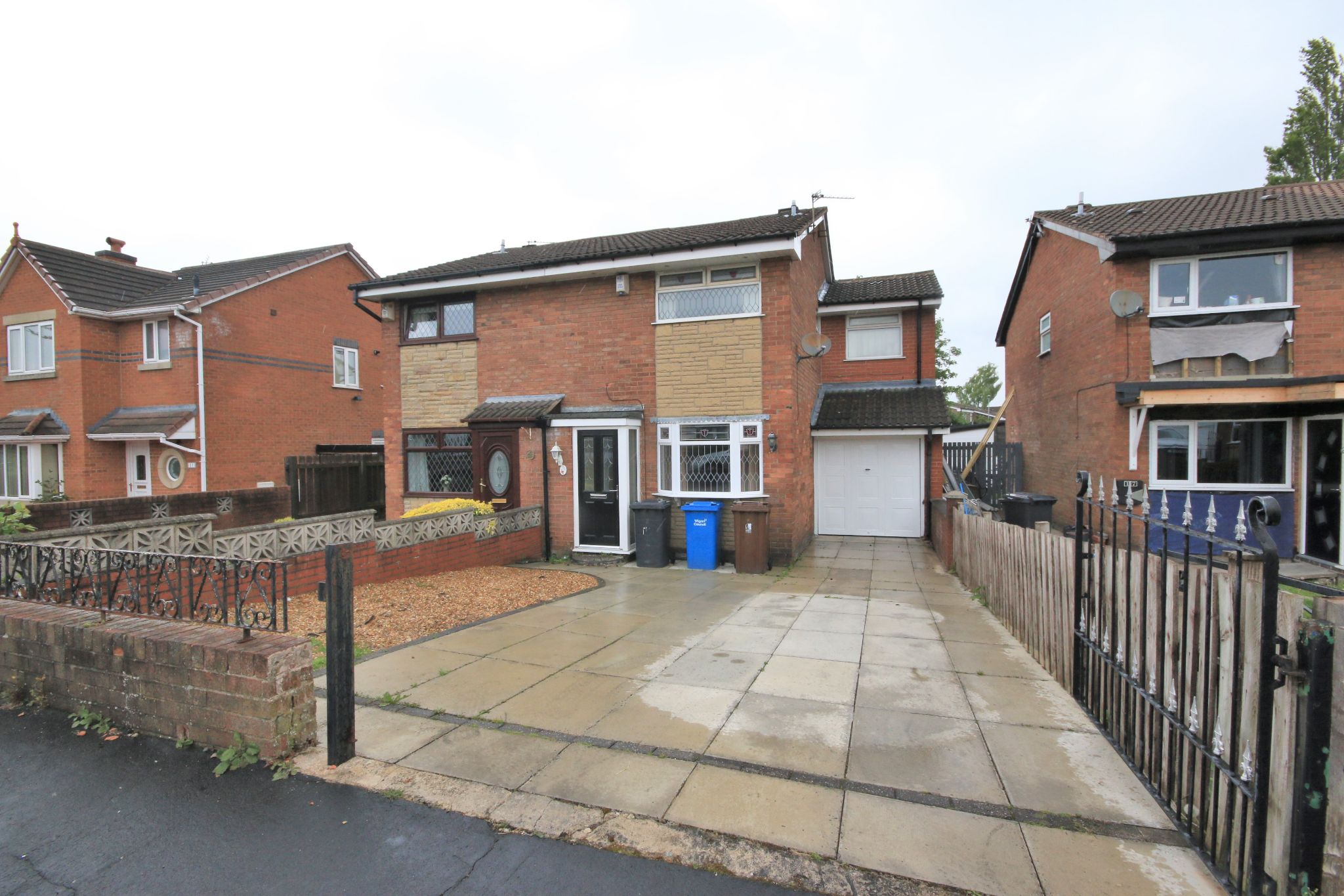 3 bedroom semi-detached house SSTC in Wigan - Photograph 1.