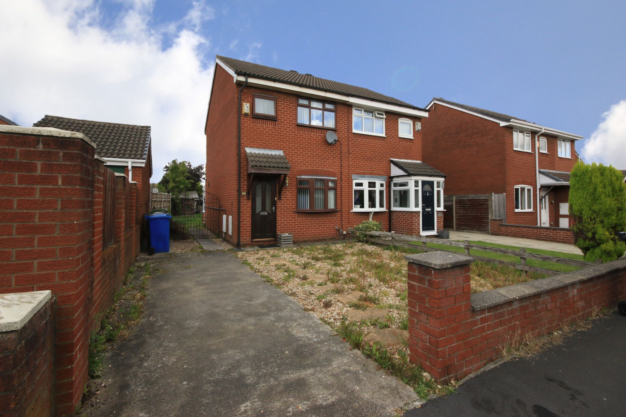 2 bedroom semi-detached house For Sale in Wigan - Photograph 1.
