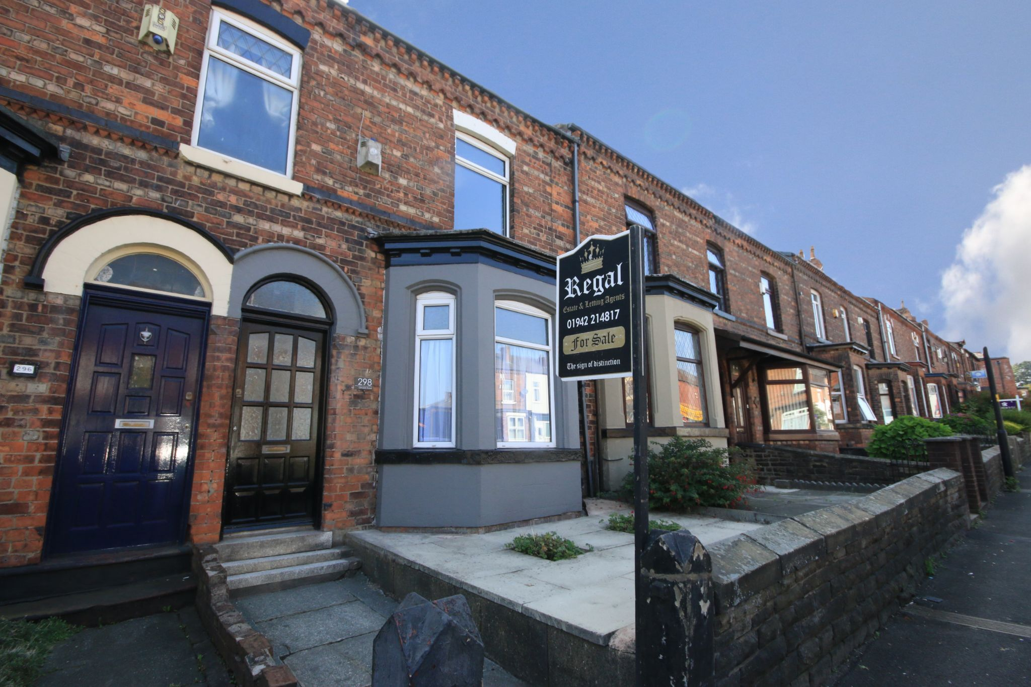 3 bedroom mid terraced house SSTC in Wigan - Photograph 1.