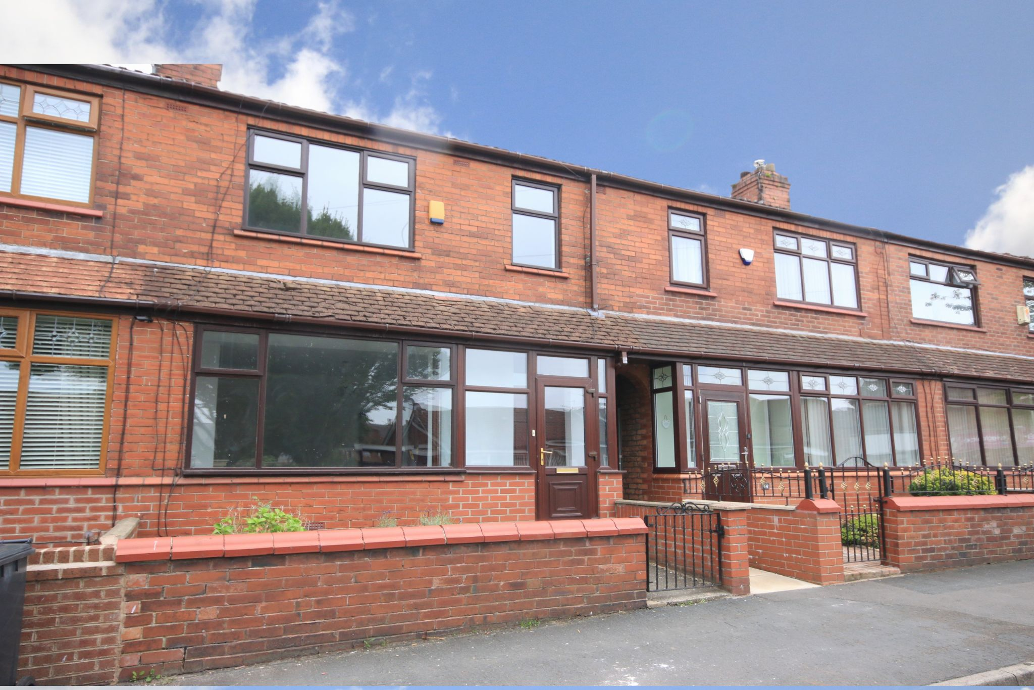 3 bedroom mid terraced house Let in Wigan - Photograph 1.