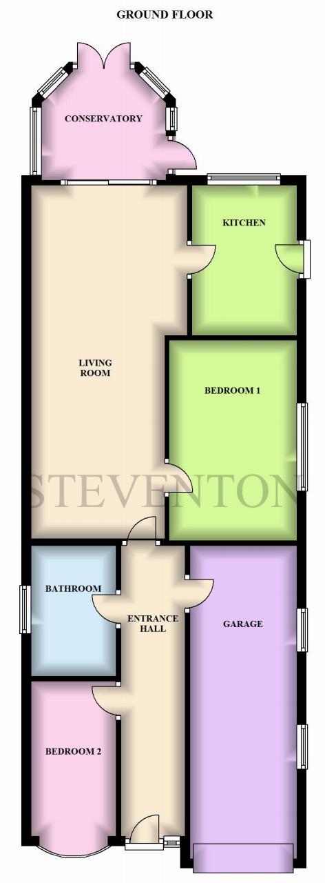 4 Bedroom Detached House For Sale - Floorplan 2