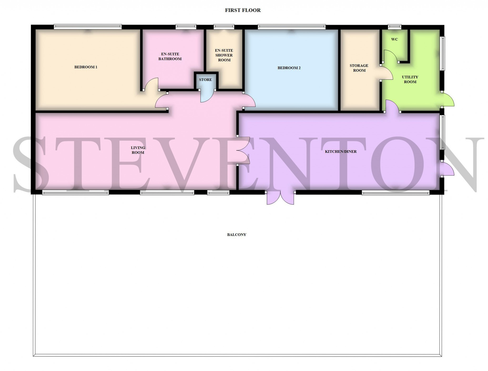 5 Bedroom Detached House For Sale - Floorplan 2