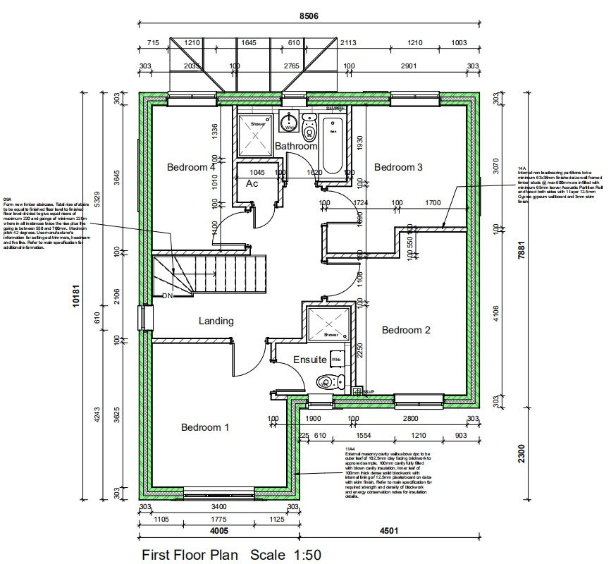 4 Bedroom Detached House For Sale - Floorplan 2